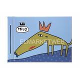 Carpeta Escolar De Dibujo N°5 Milo Lockett Dos Tapas Azul