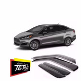 Jogo Calha De Chuva Defletor Tg Poli New Fiesta Sedan 11/15