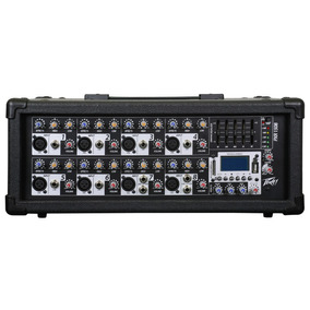 Mezcladora Amplificada 8 Canales 150w, Peavey Pxr1508