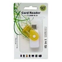 Lector De Memoria ( Card Reader ) Usb Externo