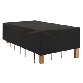 Cubierta Funda Rectangular Patio Mesa Mueble Resistente Agua