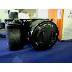 Sony A6000 Con Lente Kit 16-50 Como Nueva