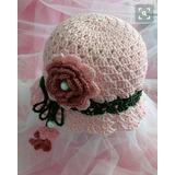 Capelinas Sombrero Tejidos A Crochet Bebés Niñas Damas De Hi