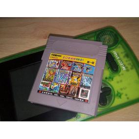 Fita Game Boy Color 108 Jogos Sem Repetição! Pokémon Mario