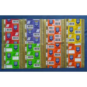 Fifa 365 2018 - 8 Envelopes Lacrados Importados Diferentes