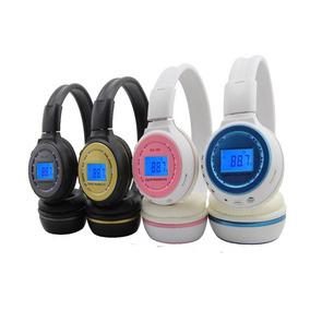 Fone De Ouvido S/fio Bluetooth Dobrável Fm/cartão Sd Mp3 N65