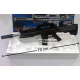Fusil M4 Tipo Pistola Balines 70cm. De Plastico Tipo Airsoft