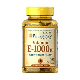 Pride Vitamina E-1000 Ui-100 Pastillas De Puritanas