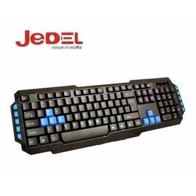 Teclado Jedel Kb520 Multimedia Usb