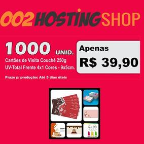 Cartão De Visita 1000 $39,90 -250g Arte Grátis Personalizada