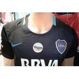 Nueva Camiseta Boca Juniors Alternativa Negra 2018 Adultos!!