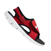 Sandália Papete Nike Infantil Sunray Adjust Vermelha