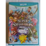 Super Smash Bros Wii U Nuevo Sellado Nintendo Mario Trqs
