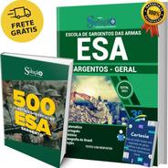 Kit Apostila Concurso Esa - Sargento + Caderno De Questões