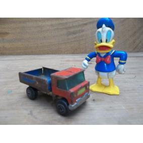 Pato Donald De Goma Y Camion De Hojalata Eva Peron