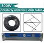 Transmisor Fm Emisora Casera 300 Vatios (watts) + Antena