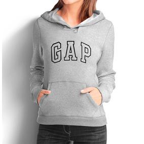 Moleton Gap Feminino Casaco Canguru Blusa De Frio Moletom