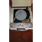 Tocadisco Antiguo Sivertone Con Amplificador Y Corneta