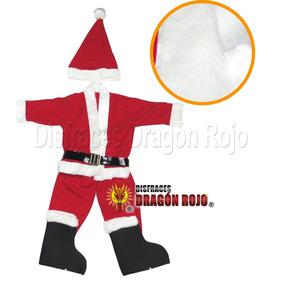 Disfraz Santa Claus De Lujo Para Niño Talla 2 - 4