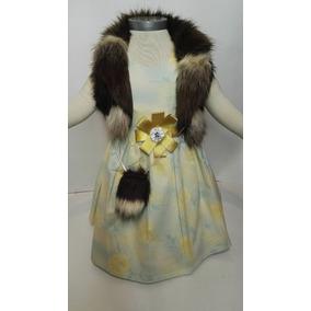 Vestido Niña Flores Campesina Falda Estampada Verano Conjunt