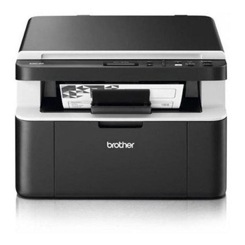 Impressora multifuncional Brother DCP-1 Series DCP-1602 220V preta e cinza
