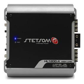 Módulo Amplificador Stetsom Hl1200.4 1200rms 2 Ohms Digital