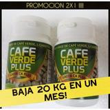 Cafe Verde+l-carnitina+garcinia Cambogia+te Verde Promo 2x1
