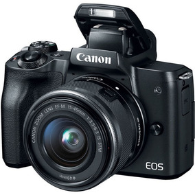 Câmera Canon Eos M50 Kit 15-45mm C/nota 2018 Orig Lacrado