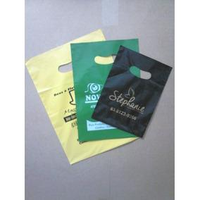Kit Sacolas Plasticas Personalizadas 400 Unidades