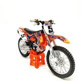 Moto Ktm 450 Sx-f Burago Coleccion Escala 1/18