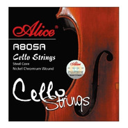 Encordado De Cello 4/4 Alice A805a