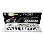 Organeta Piano Teclado 49 Teclas Juguete Para Niño Niña