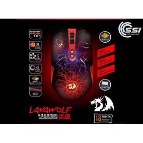 Mouse Gamer Redragon Lavawolf M701