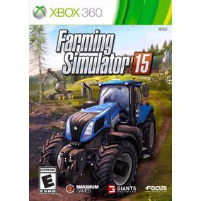 Farming Simulator 15 - Xbox 360 - Midia Fisica