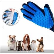 Guante Cepillo Silicona Pelo Mascotas Perro Gato Masajeador