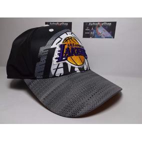 Gorra Lakers Grey 2016 adidas Nba Oficial Con Holograma.