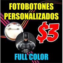 Fotobotones Publicitarios Super Precio Oferta