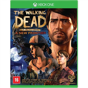The Walking Dead New Frontier Em Pt-br Xbox One Mídia Física