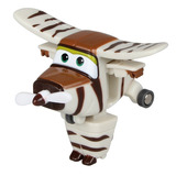 Transformador Auldey Jerom - Super Wings Series White+brown