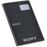 Bateria Pila Ba600 Sony Xperia U St25i St25 S Lt26i Nozomi