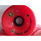Jogo De Rodas De Long Tracker Red Stars76mm 78a