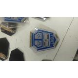 Pin Emblema 3 X 2 Metal Con Capsula Poliester Meses S/intere
