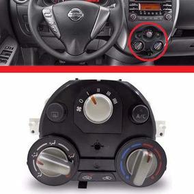 Botao Controle Ar Condicionado Nissan Versa March Original