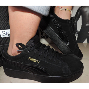 6bc56cf86e040 Tenis Zapatillas Puma Vans Negro adidas Nike Converse Lacost