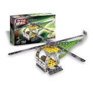 Juego Mecano Armamec 150 Piezas 2en 1 Helicoptero Robot Prom