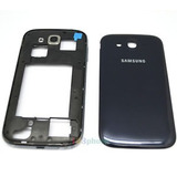 Carcaça Completa Face + Vidro Samsung Galaxy S Duos S7562