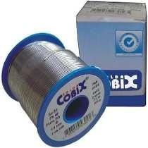 Solda Estanho Azul 500g 1.0mm 60x40 Fluxo Ra(t2) Cobix