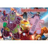 Dije Ironman Lego The Avengers Marvel Igo Colecciona Mercenv