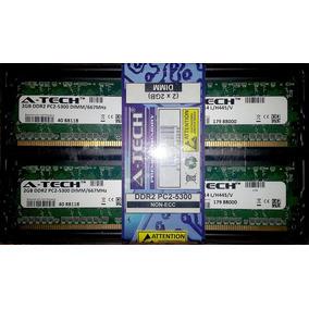 A Tech Kit Memoria 4 Gb 2 .x 2 Gb Ddr2 Pc2-5300 Dimm 667 Mhz