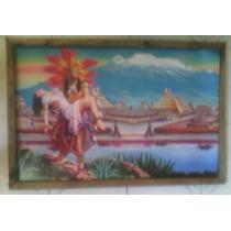 Cuadro Grande Nuevo Aztecas Ciudad